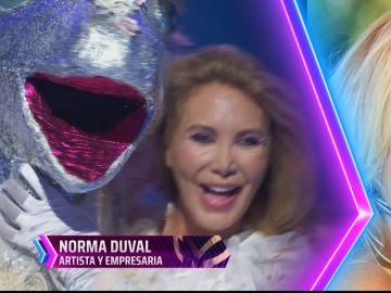 Norma Duval es el unicornio de Mask Singer
