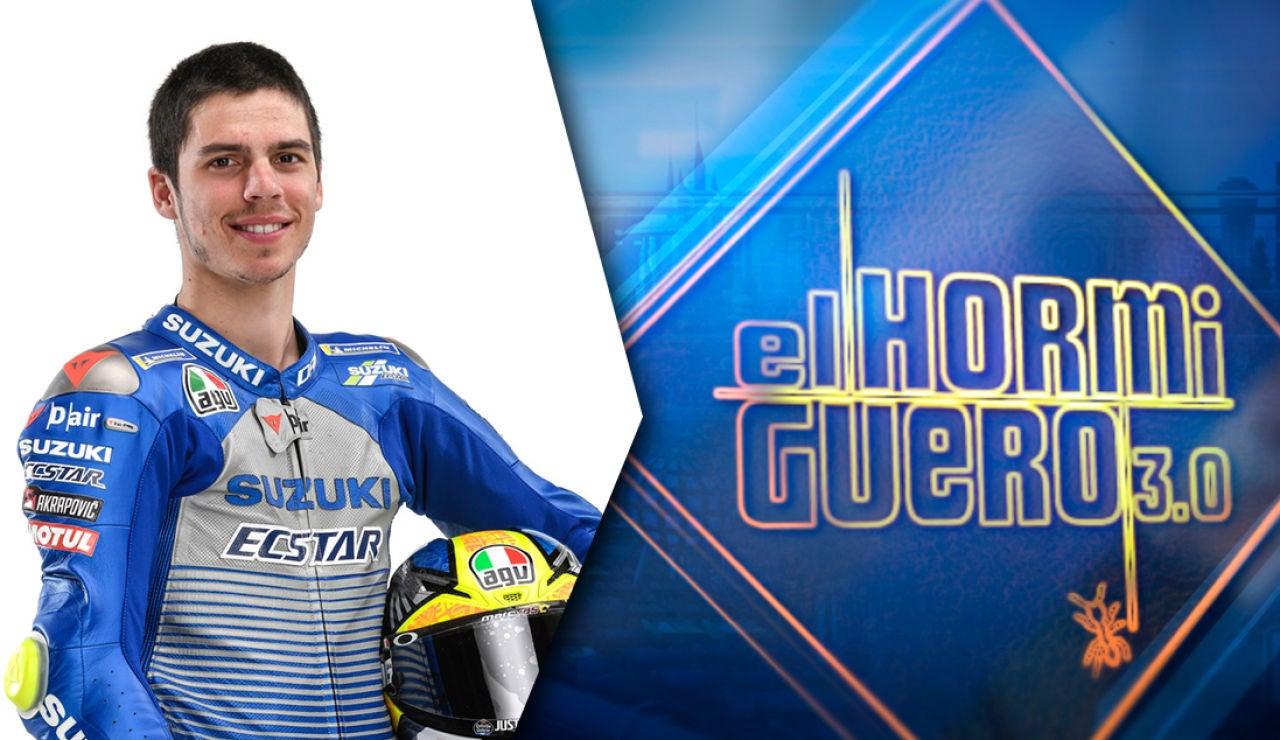 Joan Mir comparte este miércoles sus éxitos en el motociclismo en 'El Hormiguero 3.0'