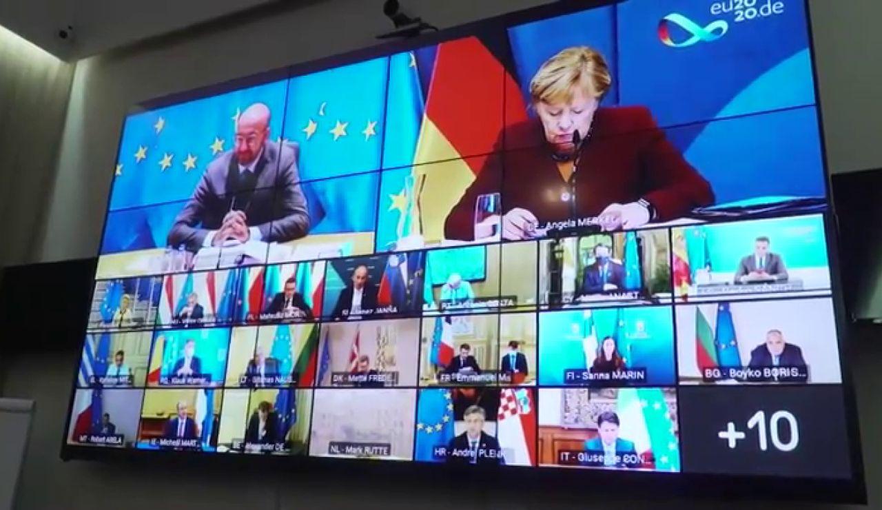 Continúa el bloqueo de Hungría, Polonia y Eslovenia tras la reunión de la cumbre europea