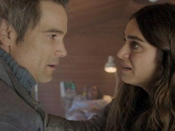 Julia, la última esperanza para salvarle la vida Manuela
