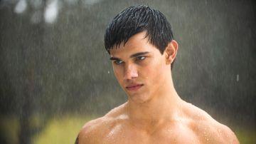 Taylor Lautner en 'Crepúsculo'
