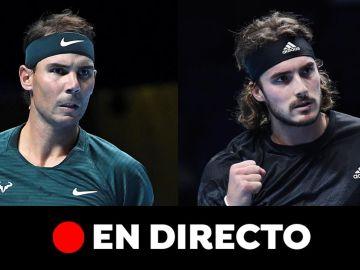 Rafa Nadal - Stefanos Tsitsipas: partido de ATP Finals, en directo