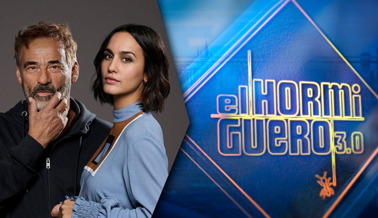 Eduard Fernández y Megan Montaner visitan este lunes 'El Hormiguero 3.0'