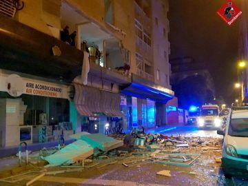 Explosión en edificio de Torrevieja