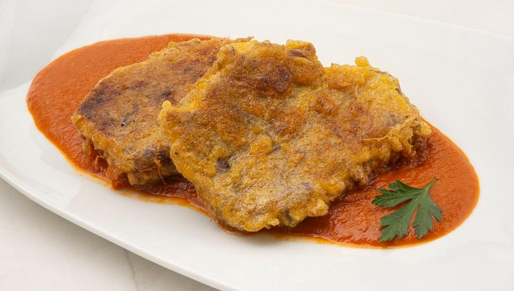 Receta de morcillo en salsa vizcaína, de Karlos Arguiñano