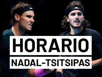 Rafa Nadal - Stefano Tsitsipas: Horario y dónde ver el partido de tenis hoy en directo | ATP Finals 2020