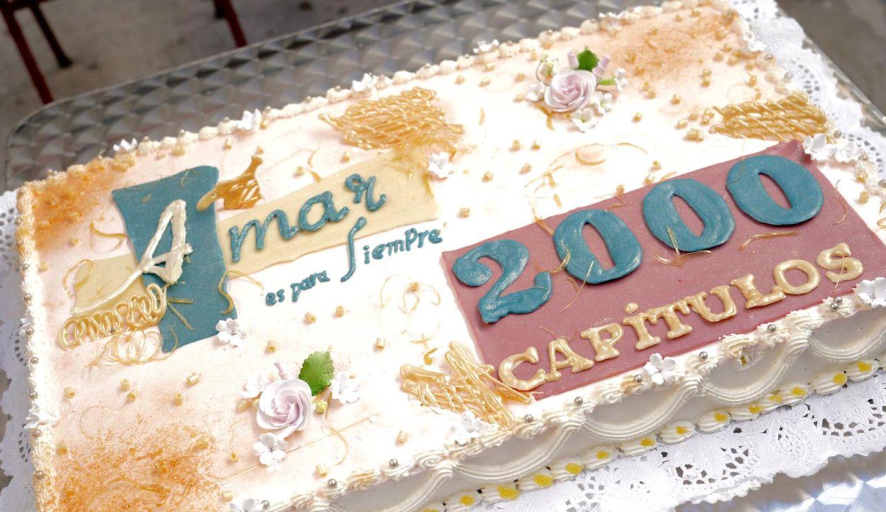 la icónica ficción de Antena 3 alcanza la histórica cifra de los 2.000 capítulos tras casi ocho años de emisión ininterrumpida en la cadena de Atresmedia.