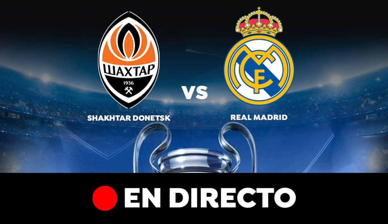 Shakhtar Donetsk - Real Madrid: Resultado y goles del partido de hoy, en directo | Champions League