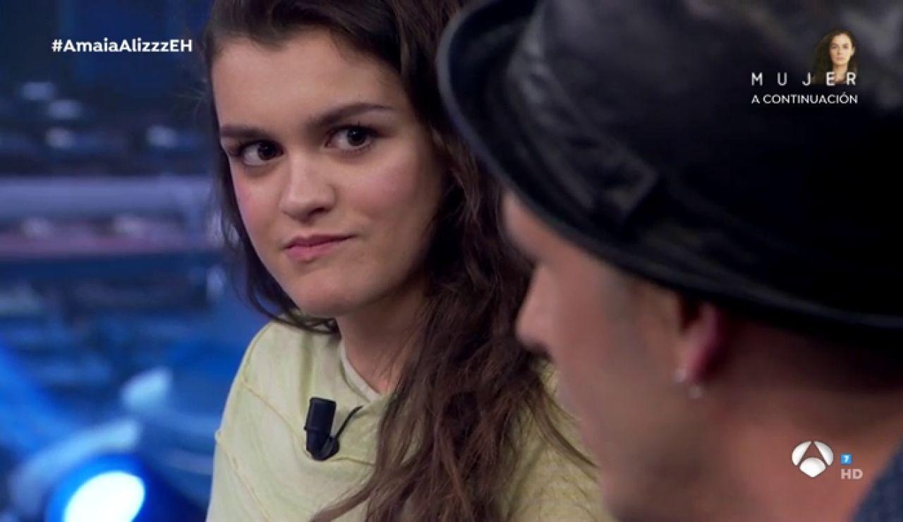 """Alizzz confiesa en 'El Hormiguero 3.0' lo que más le gustó de Amaia: """"Quedaría bien en todas las canciones"""""""