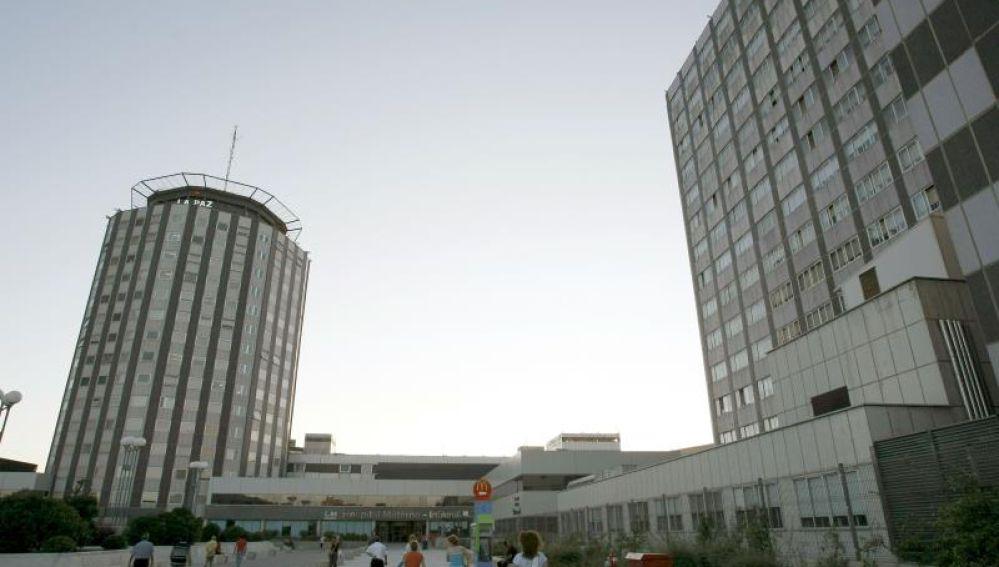 Vista general del Hospital La Paz de Madrid