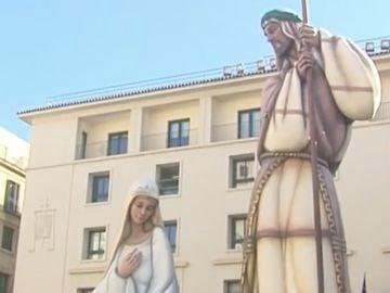 Polémica por el coste del Belén gigante de Alicante que bate el récord Guiness