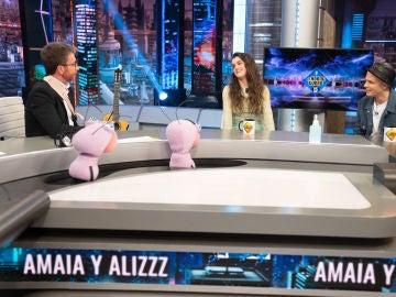 Pablo Motos sorprende a Amaia Romero y Alizzz con su baile en su época de la ruta del bacalao