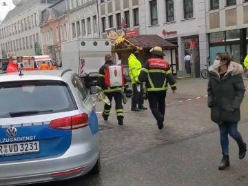 Dos muertos y varios heridos en un atropello en la ciudad alemana de Trier