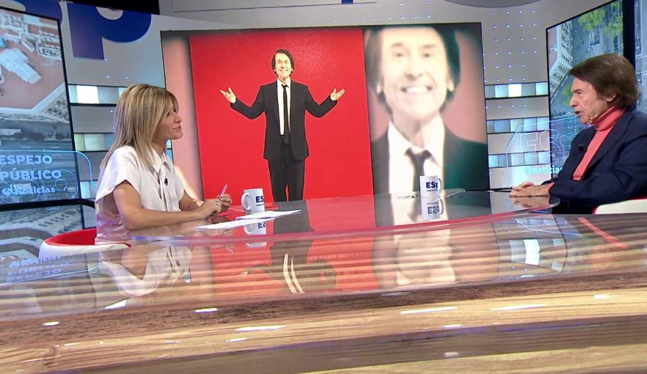 Susanna Griso entrevista a Raphael.