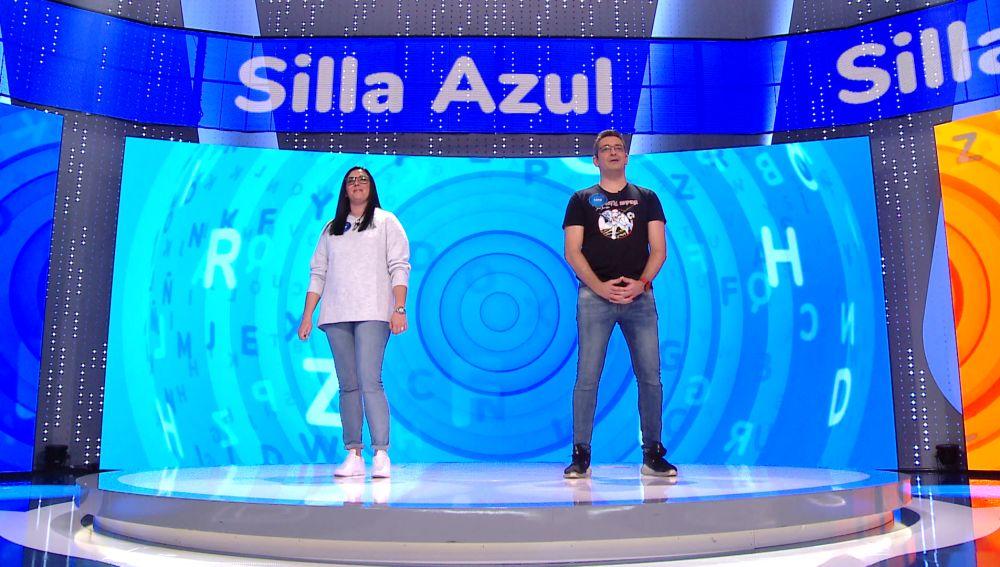 Luis prueba suerte en el que sería su programa 50 en 'Pasapalabra' contra Vanesa en la 'Silla Azul': ¿volverá a formar parte del equipo azul?
