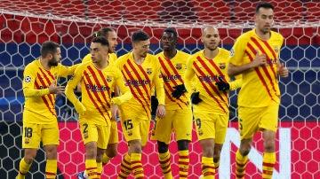 El Barcelona golea al Ferencváros