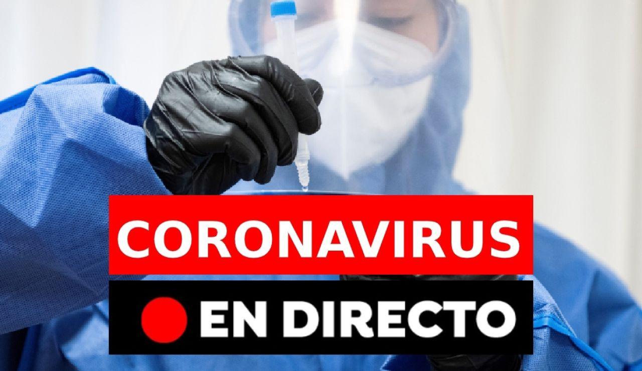 Coronavirus España: Última hora sobre la vacuna y el plan para Navidad, en directo