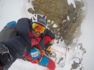 El alpinista Sergi Mingote