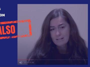 El vídeo fake sobre los asintomáticos