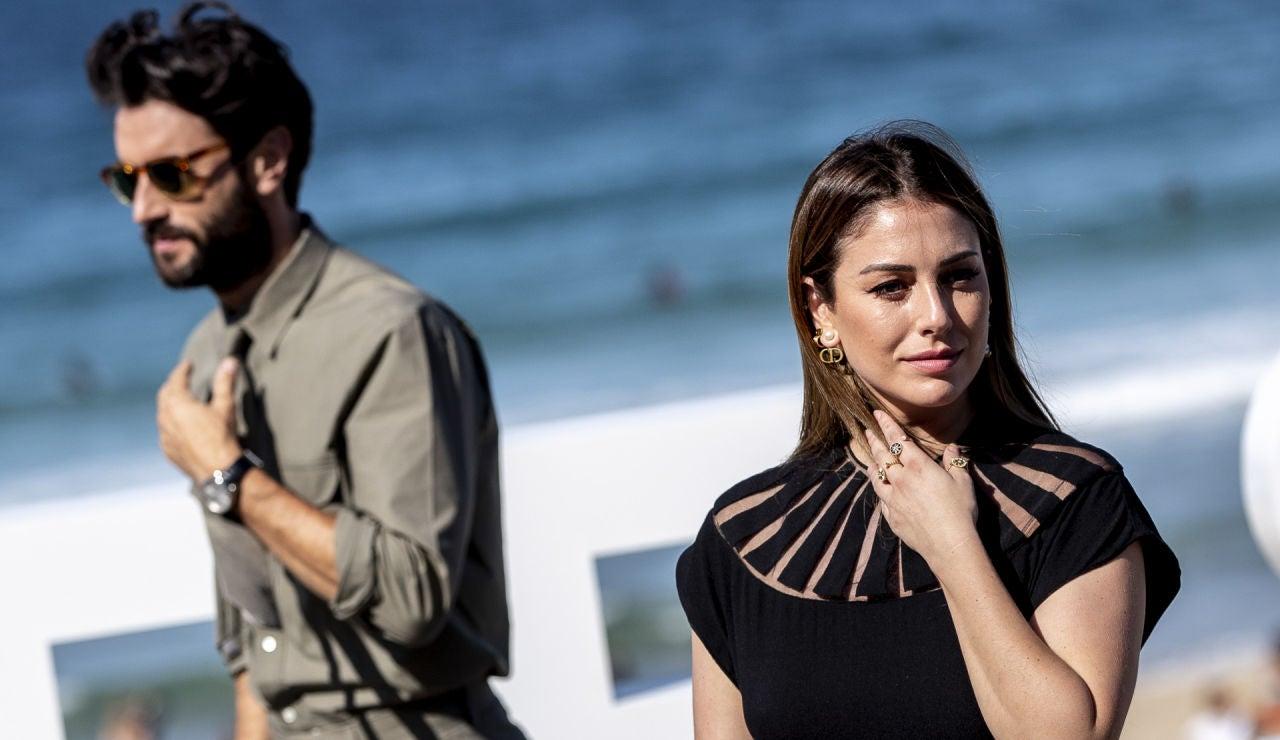 Javier Rey y Blanca Suárez en la presentación de 'El verano que vivimos'