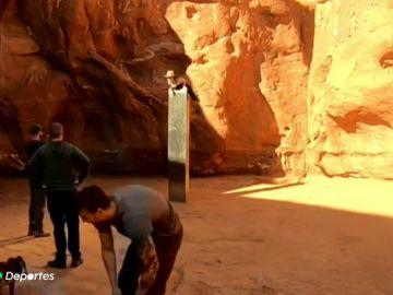 El misterioso monolito aparecido en Utah y que ha sido robado por cuatro jóvenes
