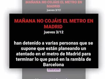 Bulo atentado terrorista madrid