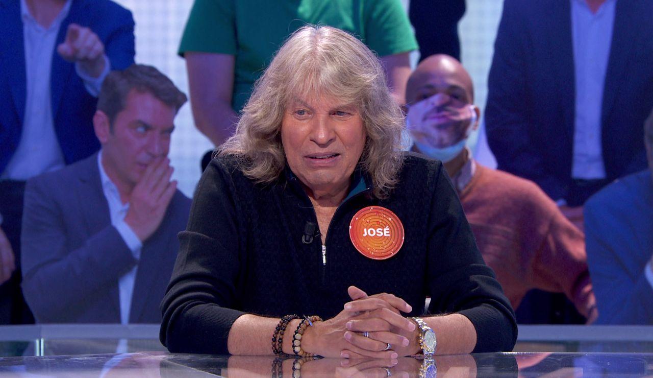 """José Mercé silencia el plató deleitando """"una chispita"""" con su talento flamenco en 'Pasapalabra'"""