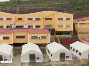 El ayuntamiento de La Laguna paraliza las obras para instalar a inmigrantes por falta de licencia