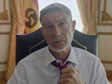 El presidente de la Nueva España, infectado de Noravirus y en situación límite