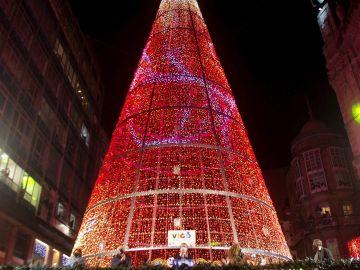 Encendido de la luces de Navidad de Vigo