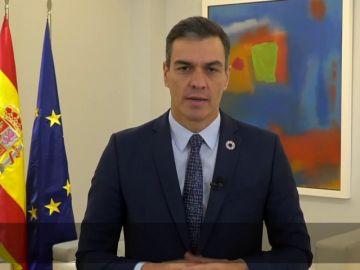 Pedro Sánchez defiende en la ONU una acción concertada para que nadie se quede atrás en la crisis del coronavirus