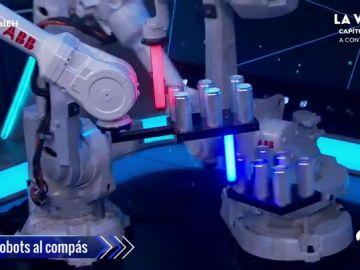 Marron logra sorprender a Rafa Nadal con los brazos robóticos que se mueven al compás, ¡qué pasada!