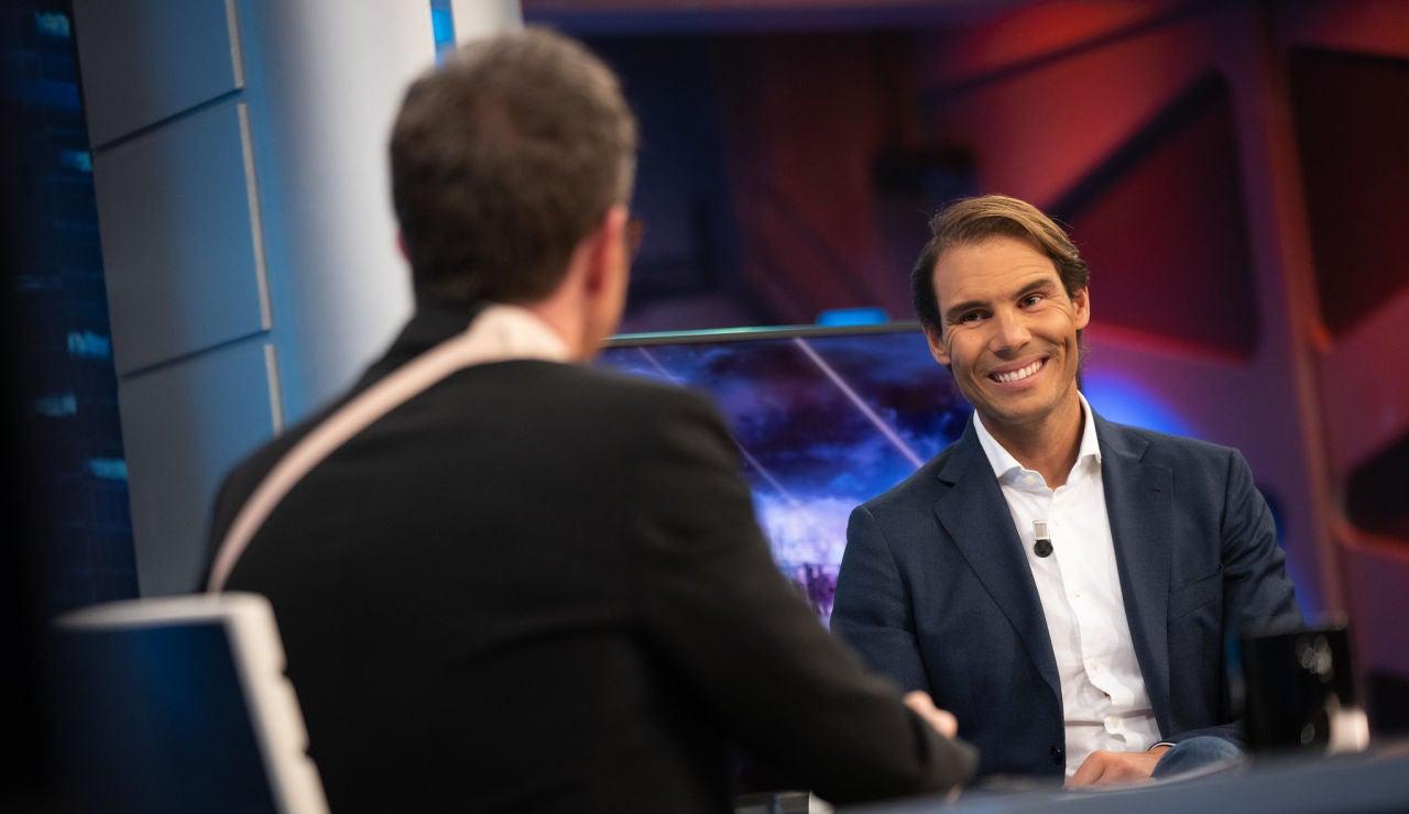 La entrevista más personal de Pablo Motos a Rafa Nadal: ¿Le gusta la fiesta? ¿Qué es lo primero que piensa por la mañana?