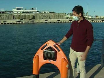 Nàutic, el invento español que puede revolucionar los rescates acuáticos con un 'dron salvavidas'
