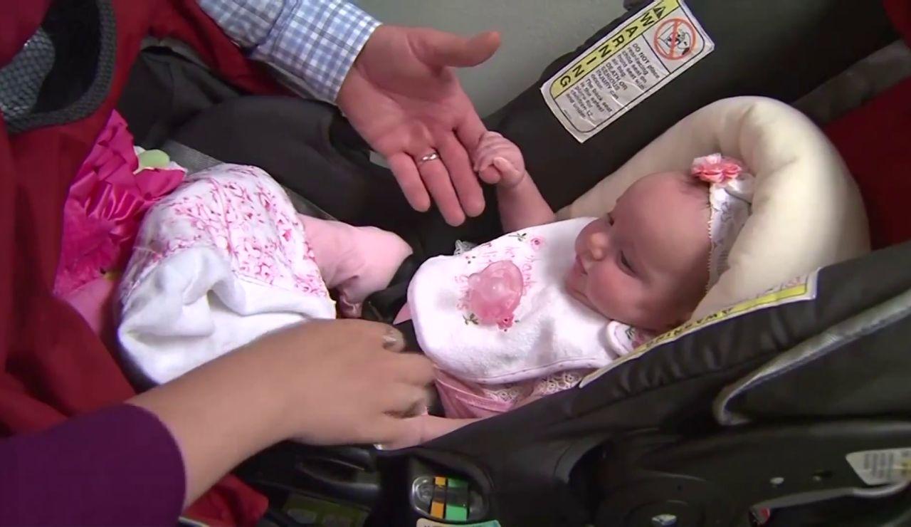 Nace una niña de un embrión que llevaba congelado 27 años