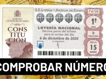Sorteo Extraordinario de la Constitución 2020 Lotería Nacional: Comprobar número y resultado del sorteo del 6 de diciembre