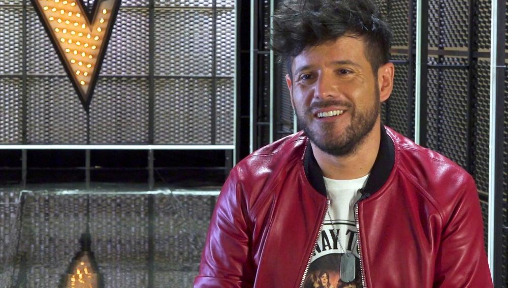 """Pablo López, sin talents en La Final: """"Me toda disfrutar de 'La Voz' desde un punto de vista privilegiado"""""""