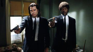 John Travolta y Samuel L. Jackson en 'Pulp Fiction' en 1994