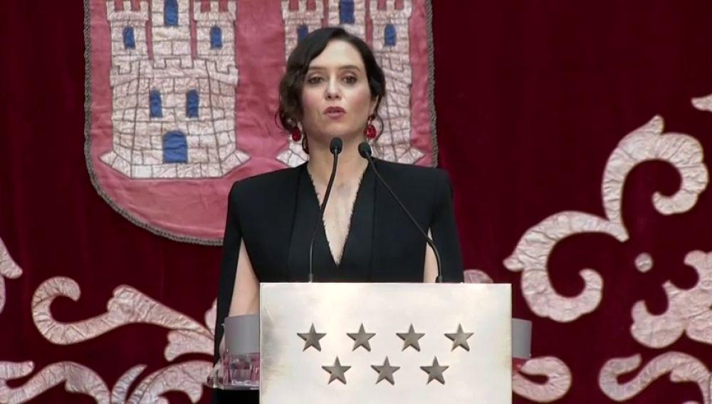 """Isabel Díaz Ayuso, en un acto de la Constitución: """"¿cómo hemos llegado a esto?"""""""