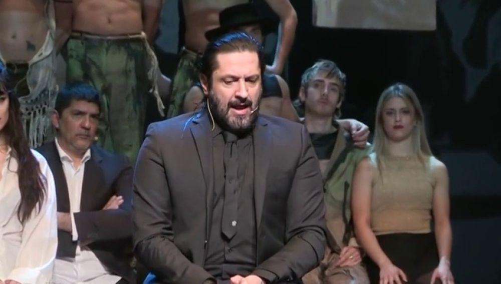 """Rafael Amargo proclama que es inocente: """"Estoy bien porque estoy donde tengo que estar, en las tablas"""""""