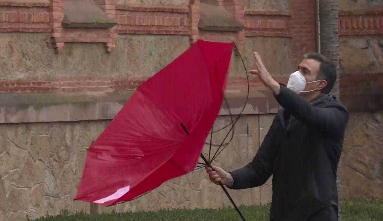 Incidente paraguas