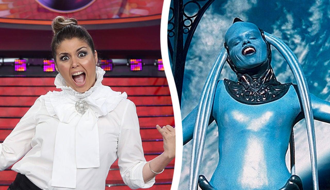 ¡La transformación más extraterreste! Cristina Ramos se convierte en Diva Plavalaguna