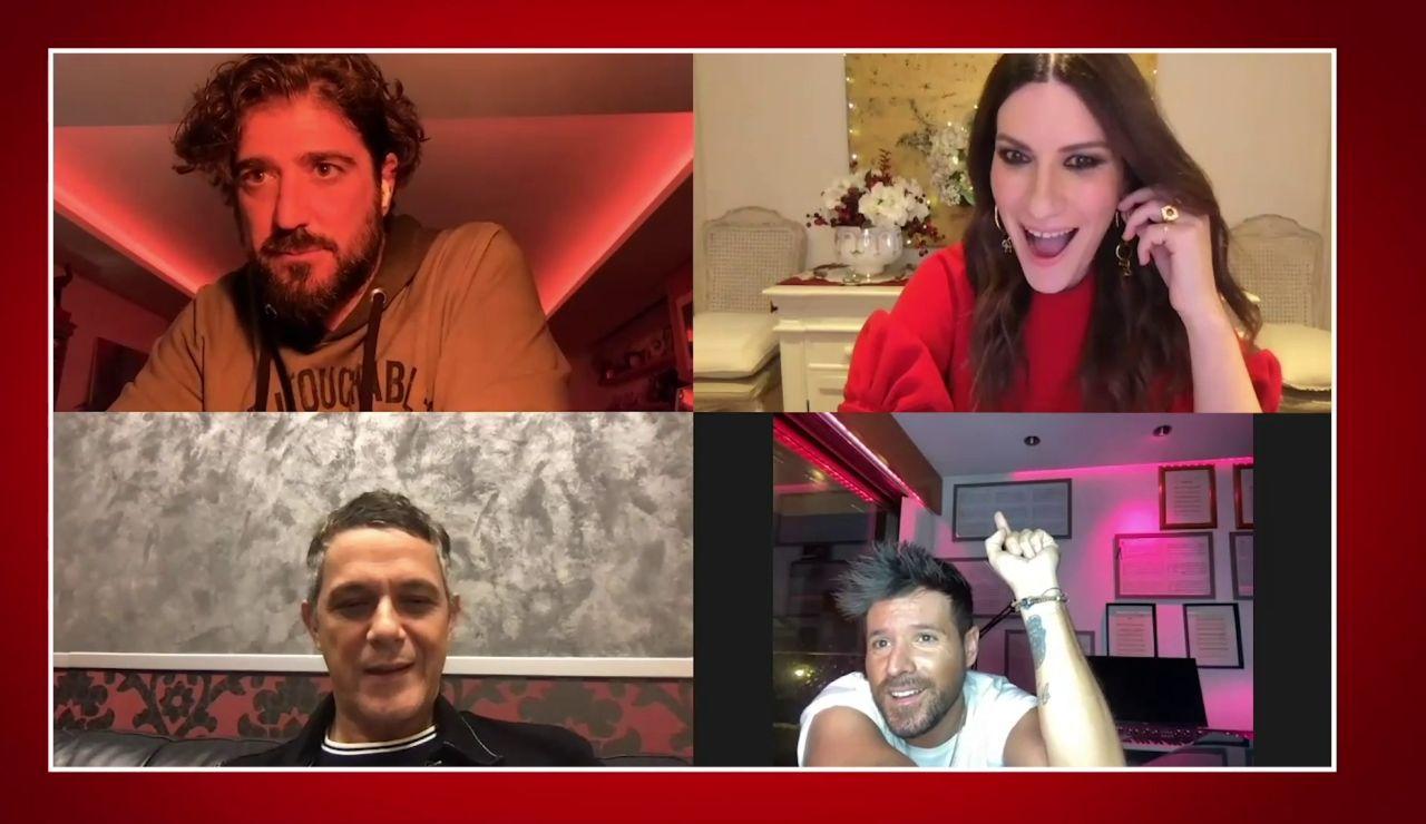 Pablo López deja sin palabras a Laura Pausini en directo con una gran noticia que causará furor entre los fans