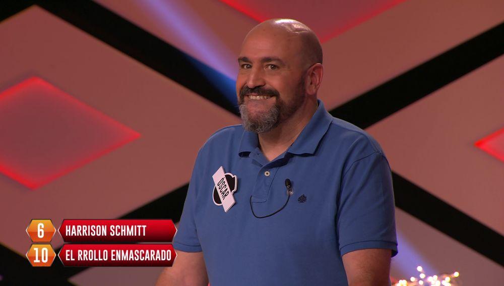Óscar, de 'Los dispersos', se lamenta al saber una de las respuestas del bote
