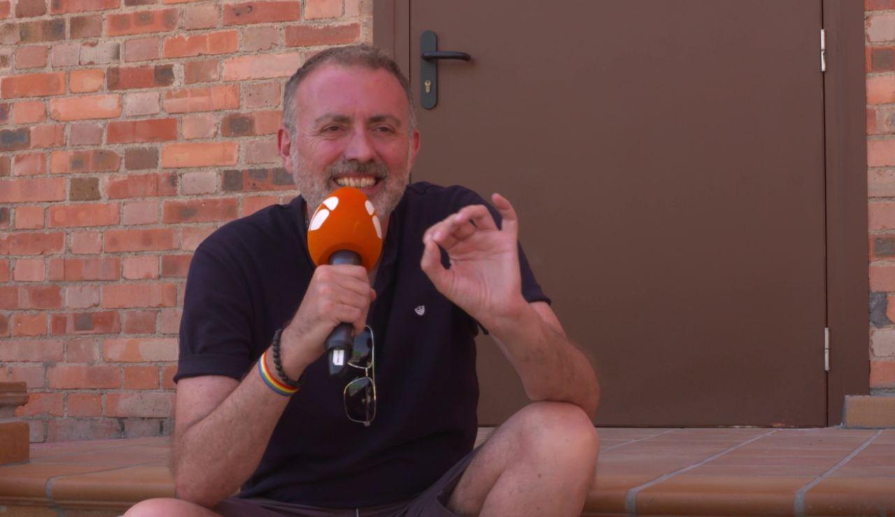 """David Molina, director de 'La Valla': """"Hemos intentado que los personajes sean profundamente humanos"""""""