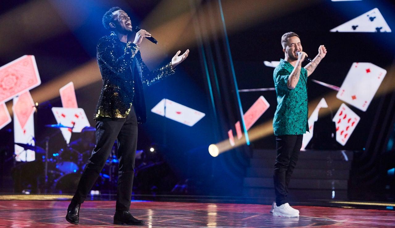 Beret y Kelly cantan 'Sueño' en La Final de 'La Voz'