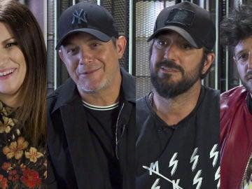 La porra de 'La Voz': Laura Pausini, Alejandro Sanz, Antonio Orozco y Pablo López votan por su favorito en La Final