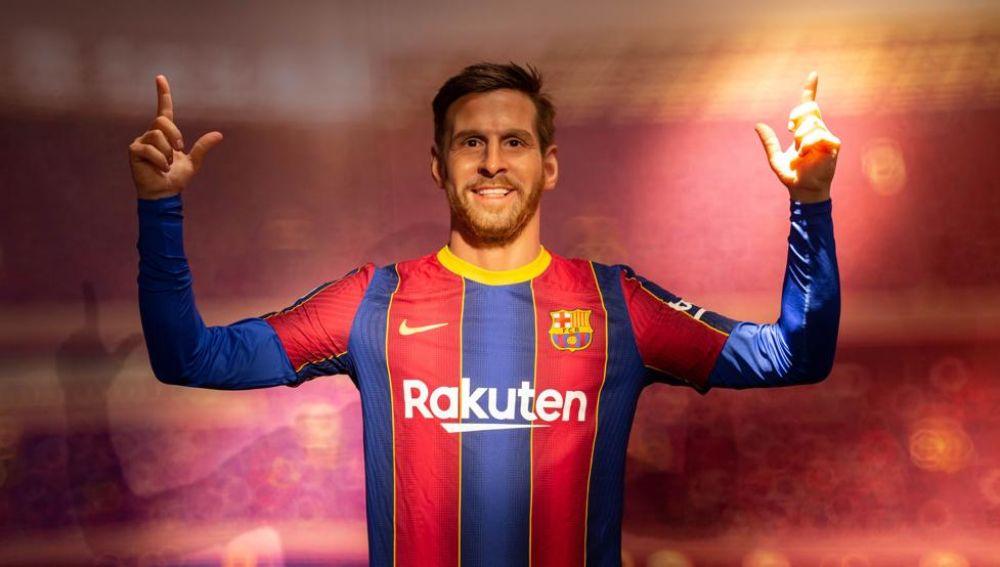 La estatua de Leo Messi en el Museo de Cera de Barcelona que está dando que hablar en redes
