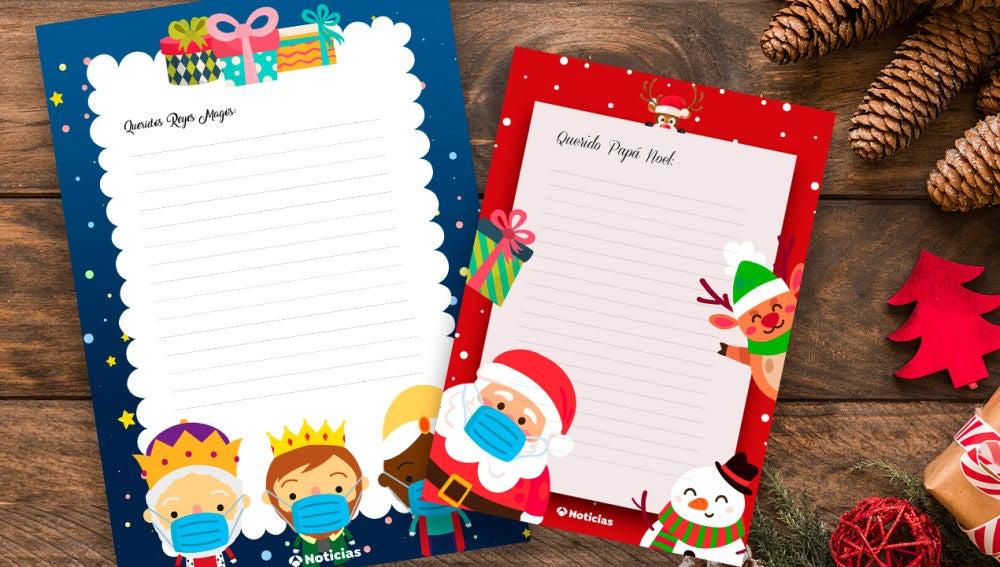 Cartas para Papa Noel y Reyes Magos en Antena 3 Noticias