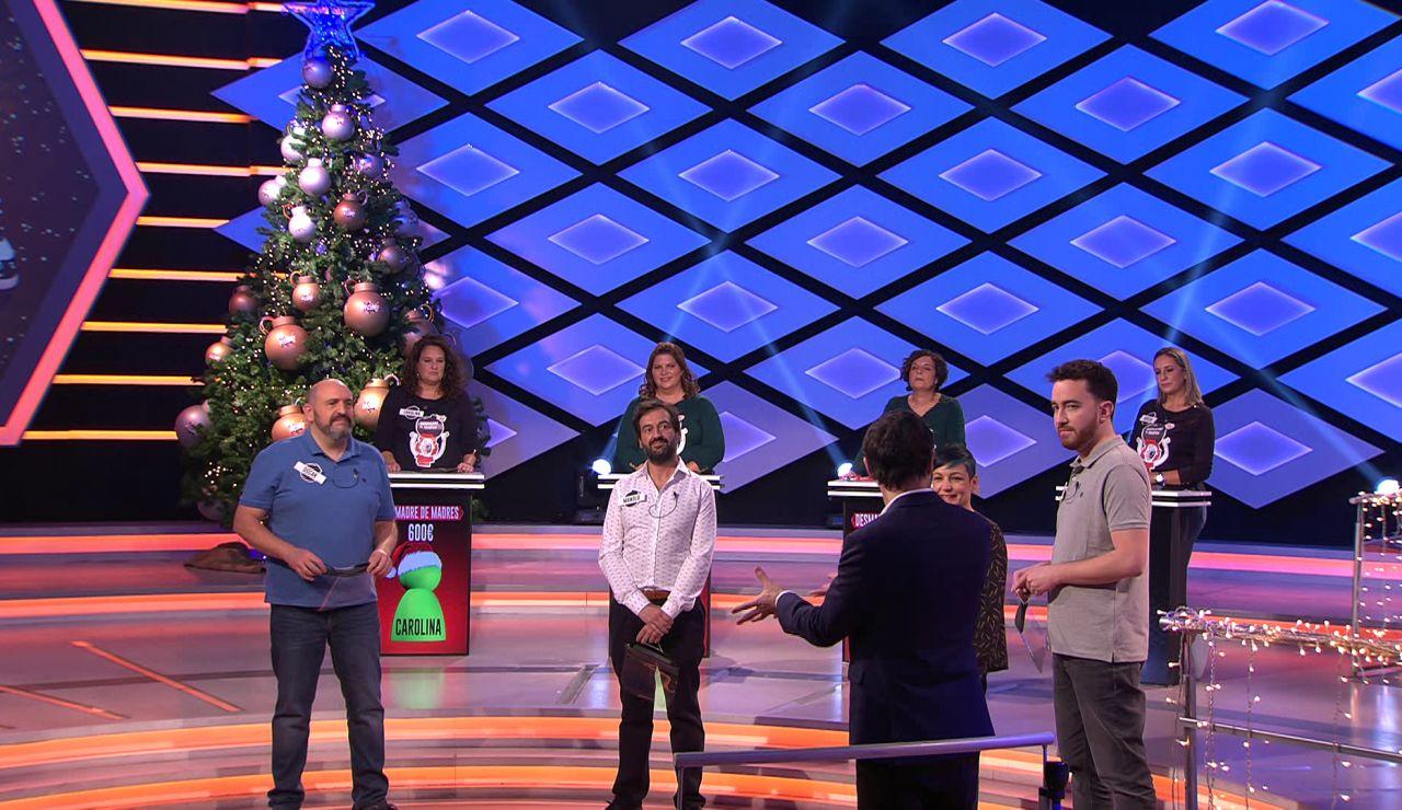¿Qué simboliza el árbol de Navidad? 'Los dispersos' la aciertan con mucha chispa